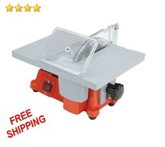 """New 4"""" Mini Electric Mighty Mite Table Saw With Blade Hobby Craft For Sm... - $67.99"""