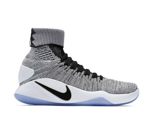NEW Nike Hyperdunk 2016 Oreo Flyknit Men's Size 8 Basketball Shoes 843390-010