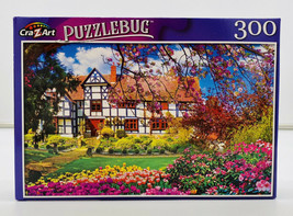 Lovely Spring Cottage - Flower Garden - Puzzle - 300 Pc - New - $4.55