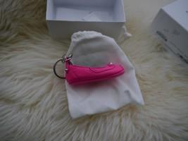 NIB 100% AUTH Balenciaga Ballerina Key Chain In Rose Fluo - $197.01