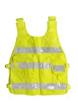 REFLECTIVE YELLOW SAFETY VEST DY01 ANSI CLASS 2 with Reflective Strips