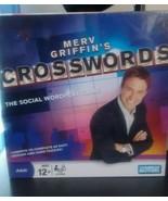 NEW Merv Griffin's Crosswords Social Wordplay Game Parker Brothers Hasbr... - $18.69