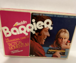 NEW Vintage Aladdin Barrier The Game Of Tactical Momentum 1975 Sealed - $9.90
