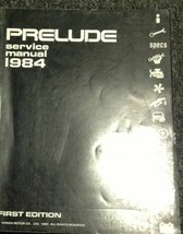 1984 HONDA PRELUDE Service Shop Repair Manual 84 OEM FACTORY DEALERSHIP ... - $22.98