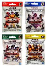 Hasbro Kre-O Transformers Micro Changers 4 Pack Bundle Includes: Collect... - $33.10