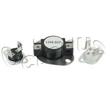 LA1053 Dryer Thermostat Fuse Limit Kit LA-1053 Fits Maytag Admiral Amana - $6.50