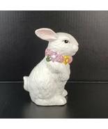 "Vintage Ceramic Easter Bunny Figurine 7"" Tall Mervyn's 1997 - $14.99"