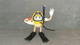 M&M's Scuba Diver Yellow Character AM FM Shower Radio + Tootbrush Holder - $10.00