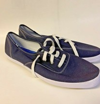 New! Keds Women 11 Canvas Shoes Navy Blue WF34200M Casual NO BOX OR TAGS - $29.69