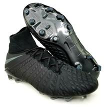 54a26e37f2d Nike Hypervenom Phantom III 3 Elite DF FG Soccer Cleats SZ 10 Mens Tripl.
