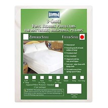 Bargoose | Fitted Mattress Cover | Standard Vinyl Bed Protector | Waterproof Box