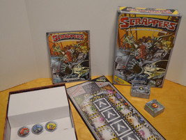 SCRAPPERS BOARD CARD GAME PRIVATEER PRESS BODGERS FAMILY STRATEGY POGS C... - $7.26