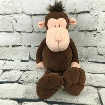 Manhattan Toy Co Monkey Plush Brown Chimp Soft Floppy Stuffed Animal Toy - $14.84