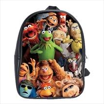 School bag muppets fozzie kermit piggy animal gonzo beaker bookbag 3 sizes - $38.00+