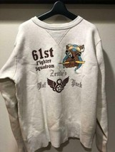 BUZZ RICKSON'S Authentic Sweatshirt Cotton 100% Size L Used from Japan - $194.00