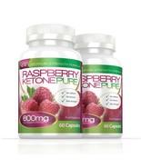 Raspberry Ketone Pure Max Strength 600mg 120 Capsules (2 Months) - $58.49