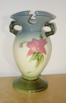 "Vintage Hull Pottery USA Woodland Flower Floral Hi-Gloss 6.5"" Vase  W4 - $24.99"