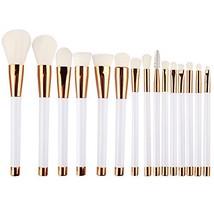 DSCbeauty 15 Pcs Professional Makeup Brushes Set Foundation Contour Blus... - $17.64