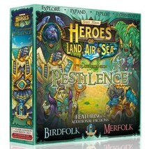 Gamelyn Games Heroes of Land, Air and Sea: Pestilence Expansion - $64.08