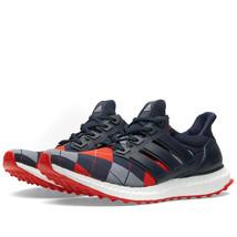Adidas Consortium Ultra Boost Night Navy/GreyTrainers By Kris Van Assche AF5825 - $168.17