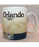 Starbucks Global Icon Series Orlando Florida Collector Coffee Mug Cup 16... - $95.20