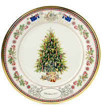 Lenox Australia Annual Collector Plate 2017 Christmas Trees Around the W... - $89.90