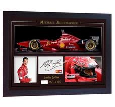 Michael Schumacher photo signed autograph Motor Sport Formula 1 Framed P... - $20.44
