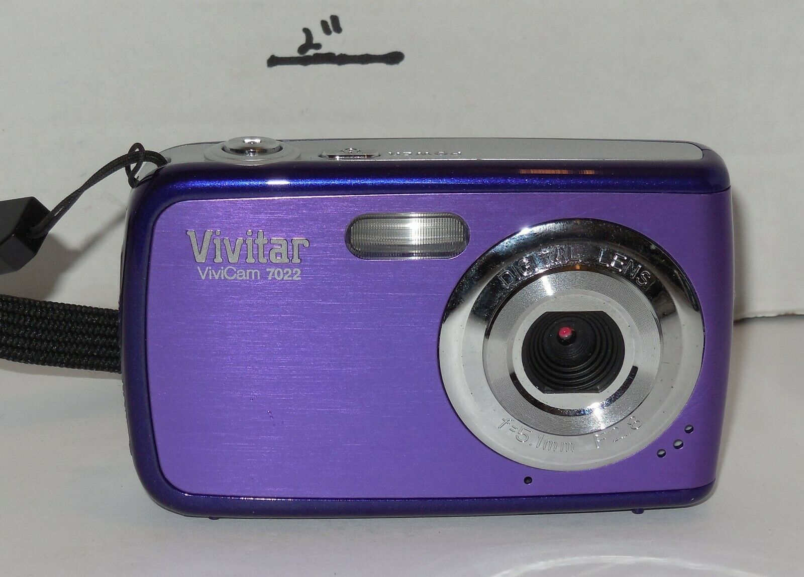 Primary image for Vivitar ViviCam 7022 7.1MP Digital Camera - Grape