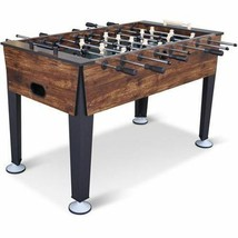 Official Sized Foosball Table Soccer Game Room Arcade Hockey Air Foos Ball - $209.95