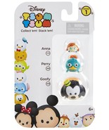 Disney Tsum Tsum 3 Pack Series 1 Anna 173 Perry 168 Goofy 109 StackEm Mi... - $8.00
