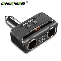 Car Usb Cigarette Lighter Socket Splitter 12v-24v Power Adapter 5v 3.1a ... - $16.79
