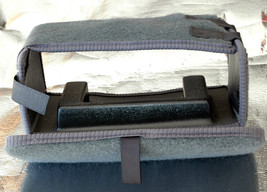 PROTECTIVE LINER / COVER  GREY CARPET FOR BMW  TRUNK  MOUNTED 6 DISC CHA... - $13.30