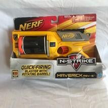 NERF N-STRIKE MAVERICK REV-6  NEW 2010  Steam Punk  - $39.59