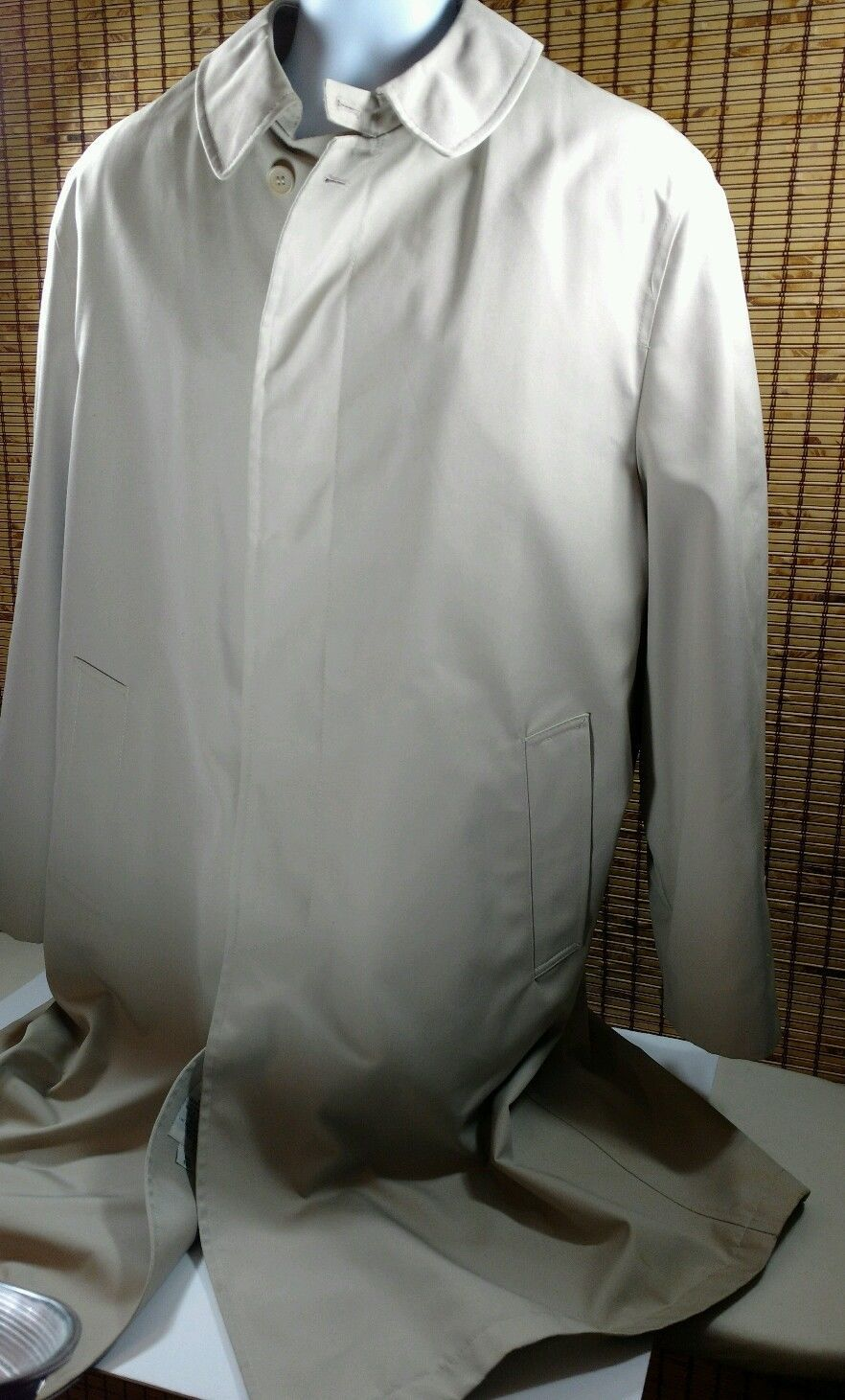 brand new Clearance sale casual shoes Mens Oleg Cassini Trench Coat Topcoat All and 14 similar items