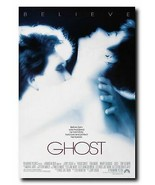 "Ghost Movie Poster 24x36"" - Frame Ready - USA Shipped - $17.09"