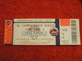 2015 NL Champ  Royals @ New York Mets Unused Citi Field Ticket Stub Game # 4 - $9.89