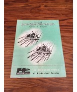Vintage Ferguson Row-Crop Cultivators 1947 Brochure - $19.99