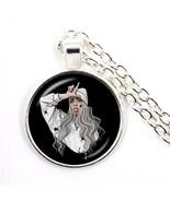 Popular Young Singer Billie Eilish Necklace Art Picture Hip-hop Music 25... - $8.39