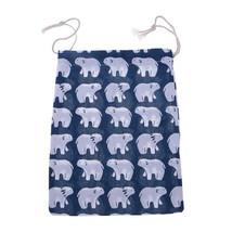 (03 size M)Travel Home Linen Cotton Storage Drawstring Bag Vintage Reusable Tote - $14.00