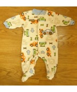 Just One Year Carter's Footed Pajamas Boy 3M Poly. 3562 - $5.65