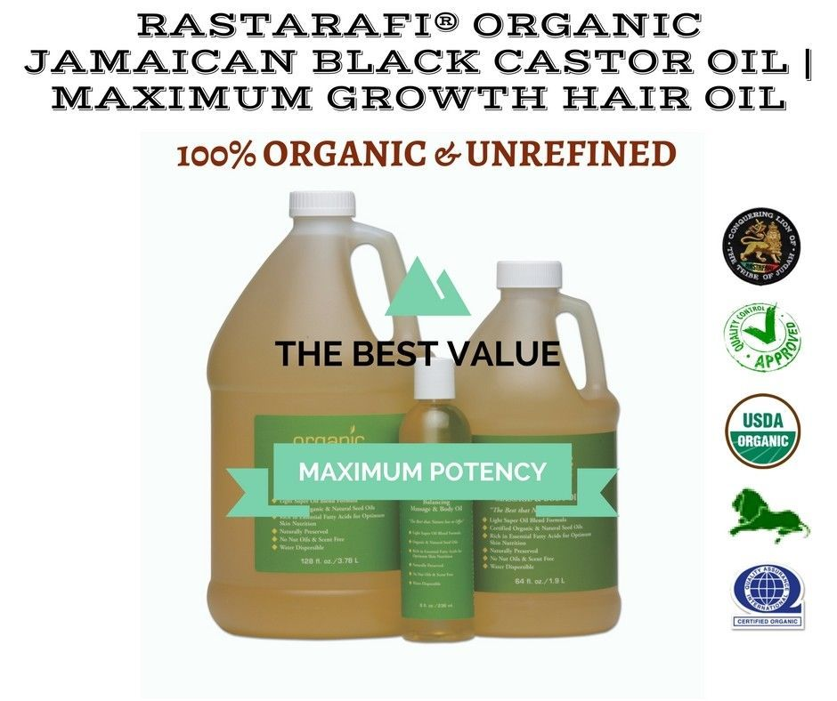 Rastarafi® Pure Jamaican Black Castor Oil | and 27 similar items