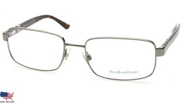 New Polo Ralph Lauren 1059 9002 Gunmetal Eyeglasses Frame 55-18-140 B35mm Italy - $83.66