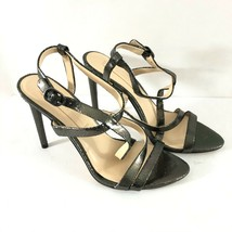 Imagine Vince Camuto Ramsey Heels Leather Metallic Strappy Bronze Size 7.5 - $28.05