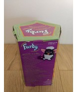 Brand New Skunk Furby 1998 Model 70-800 Black White Pink Ears Green Eyes - $132.44
