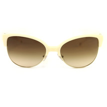 New Tiffany & Co. Sunglasses TF 4080-8161-3B Beige/Gold Acetate 57 18 140 - $166.25