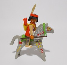 Playmobil Buffalo Hunter Indian Horse Figure 3731 Western Vintage 1992 - $15.83