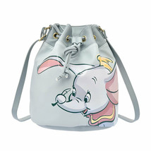 Disney Store Japan Dumbo Shoulder Bag Drawstring Bag Shoulder & Body Bag... - $83.16