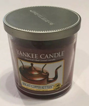 Yankee Candle Bright Copper Kettles 7 Oz My Favorite Things Glass Tumbler NEW - $28.04