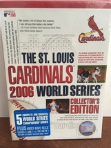 St Louis Cardinals 2006 World Series DVD, Collector's Edition (8-Disc Set) - $80.00