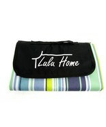 Lulu Home Travel Waterproof Blanket for Picnic, Sports, w/ Carry Handle ... - £21.37 GBP
